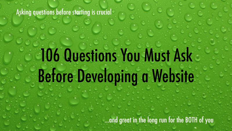 Protected: 106 Questions You Must Ask Before Developing a Website