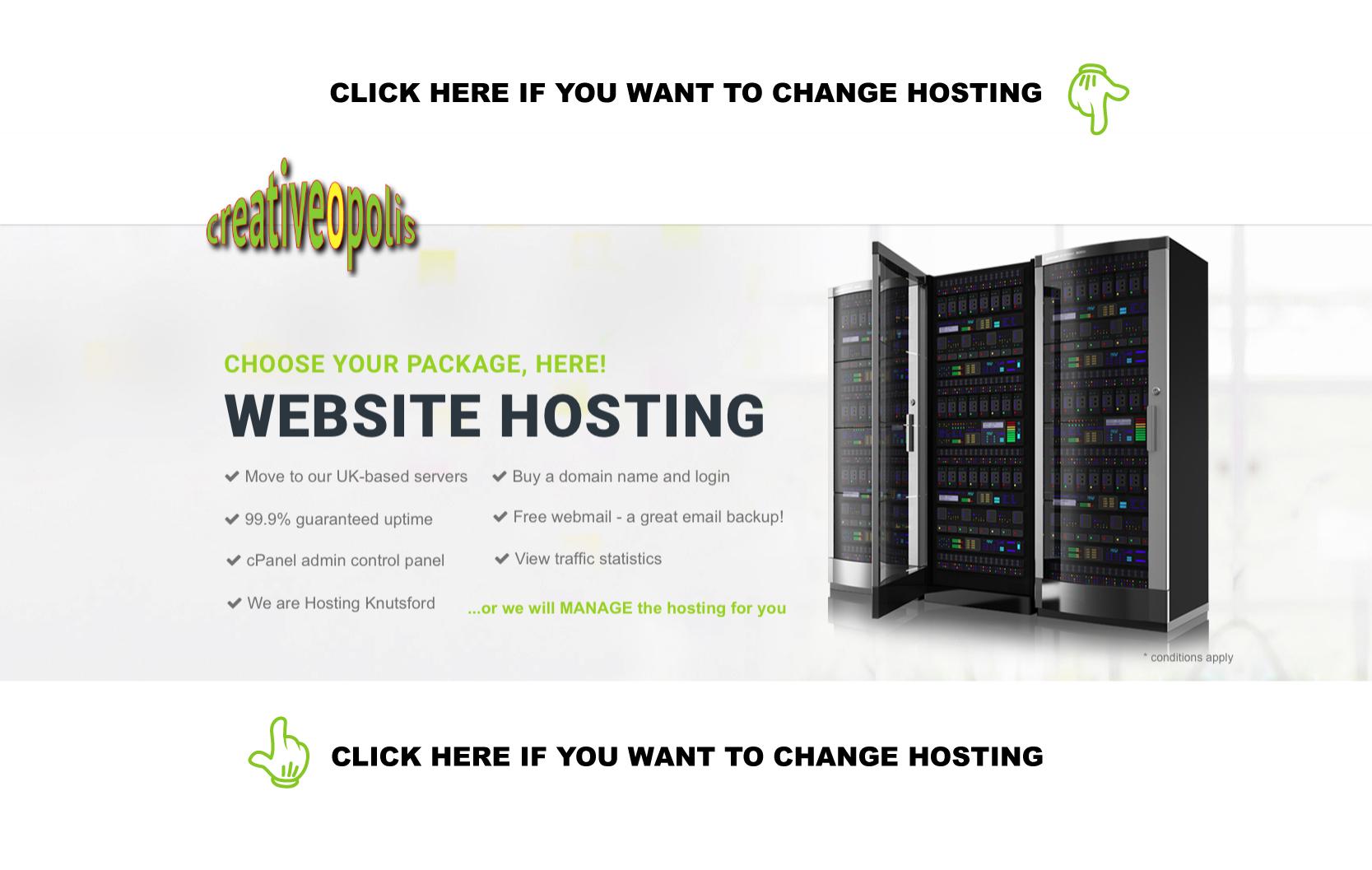 website design knutsford SEO hosting social media Cheshire domain names 03 - Hosting