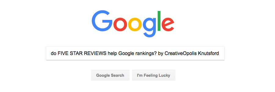 Does a FIVE STAR REVIEW Help Google Rankings?