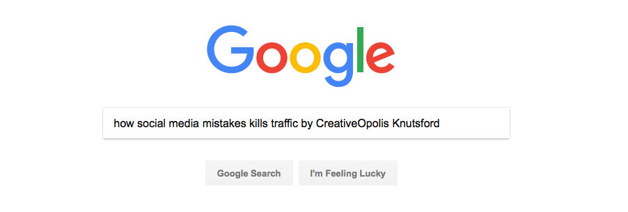 How Social Media Mistakes Kills Traffic
