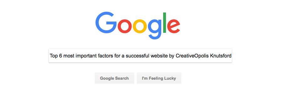 Top 6 Most Important Factors for a Successful Website