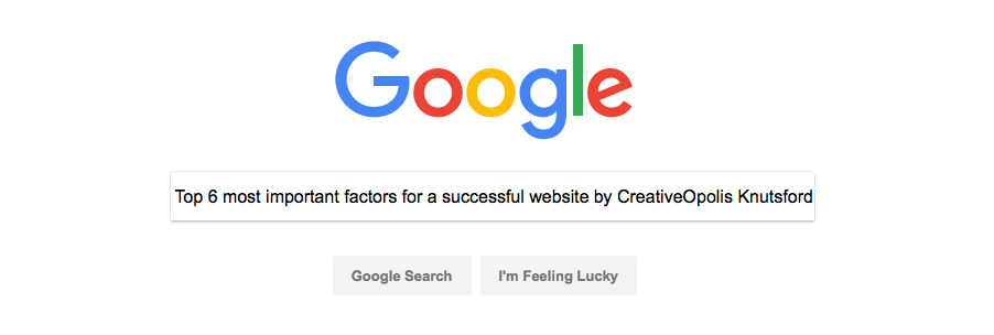 Top 6 Most Important Factors for a Successful Website